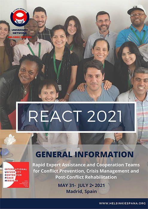 Cartel Curso REACT 2021