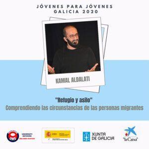 cartel jóvenes para jóvenes Galicia 2020