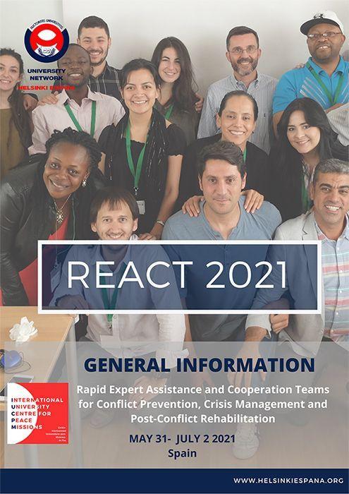 REACT 2021 Helsinki España