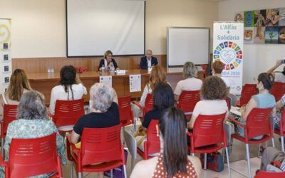 """REACT's courses and 'Challenges in 2030 Agenda"""" in l'Alfàs del Pi"""